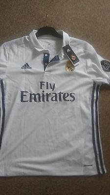 Real Madrid Home 2016/2017 Football Top Adults
