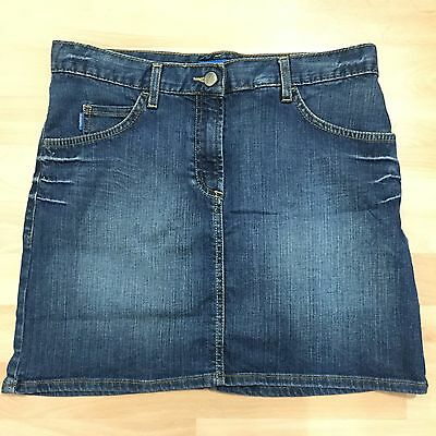 Rrp £35 - French Connection Fc Jeans Kids, Mid-Wash Girl's Denim Skirt, Age 14