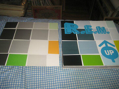R.E.M.-(up)-1 POSTER FLAT-2 SIDED-12X12-NMINT-RARE