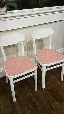 2 x dining chairs for upcycle project