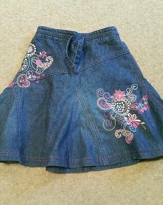 Girls denim skirt 5 years