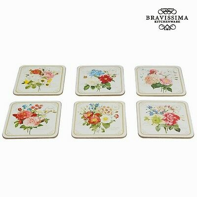 Set 6 posavasos - Colección Kitchen's Deco by Bravissima Kitchen