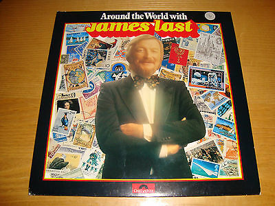 JAMES LAST 'AROUND THE WORLD WITH'- 2LP set '81 POLYDOR 1st press  MINT UNPLAYED