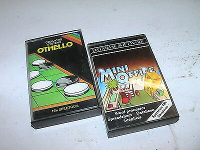 CDS Othello & Mini Office  2x ZX Sinclair Spectrum Games 006