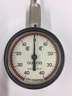 Sun Distributor Spring Tension Gauge Nos New Old Stock Point Spring Scale