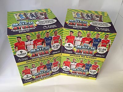 Topps EPL Match Attax 2016/17 Trading Cards - Full Box (Season 16/17)