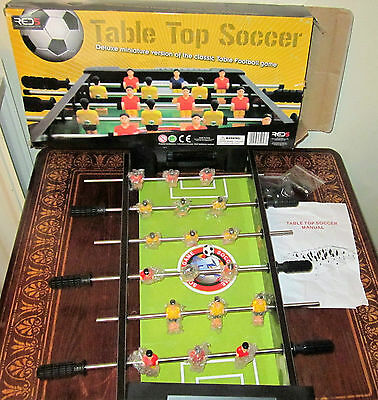Table Top Soccer Game, Good Condition
