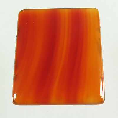 Charming 25.30 Cts Natural CARNELIAN Gemstone Rectangle Cabochon 25x20 mm Trader