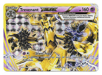 Pokemon Trevenant Break Xy Breakpoint 66/122