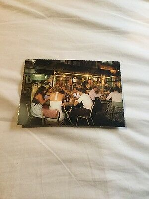 Vintage ? Postcard - Dining At Albert Street, Singapore
