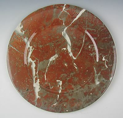 Villeroy and Boch China MARBLE-RED Charger/Service Plate(s) EXCELLENT