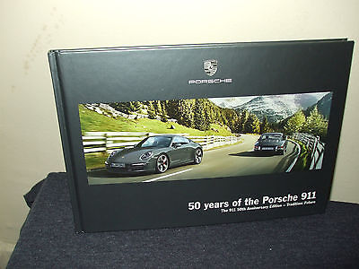 50 years of the Porsche 911 - 50th ANNIVERSARY EDITION HARDBACK BROCHURE
