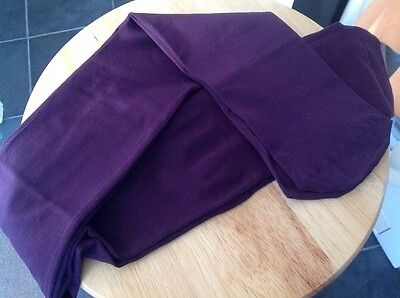 """Purple Tights - Gusseted - Approx 36"""" Long-"""