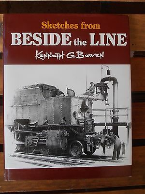 Sketches From Beside The Line Kenneth G Bowen New South Wales Victoria Railways