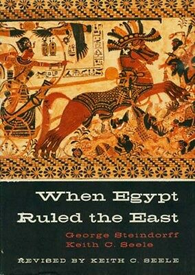 "RARE Hardcover ""When Egypt Ruled the (Middle) East"" Archaeology Architecture Art"