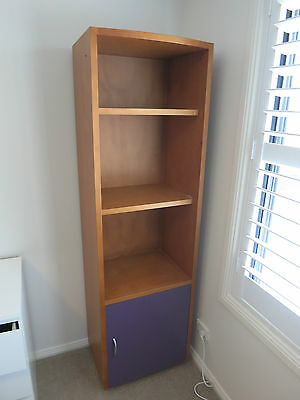 Bookcase - Children's Bedroom - Very Sturdy With Cupboard - Well Made - Value !
