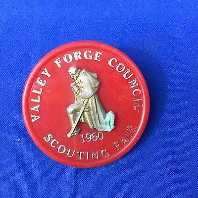 Boy Scout Valley Forge Council 1960 Neckerchief Slide