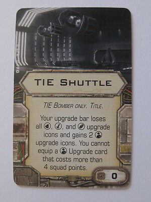 X-Wing Upgrade Card - Tie Shuttle
