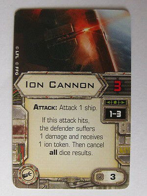 X-Wing Upgrade Card - Ion Cannon
