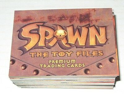 Trading Card Set Spawn The Toy Files Base Set Cards 1-90