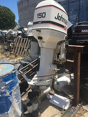 Johnson 150 Hp Can Freight Australia Wide