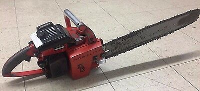 Homelite X12 Chainsaw with Bar and Chain - Runs great! Great Shape! 54.2cc
