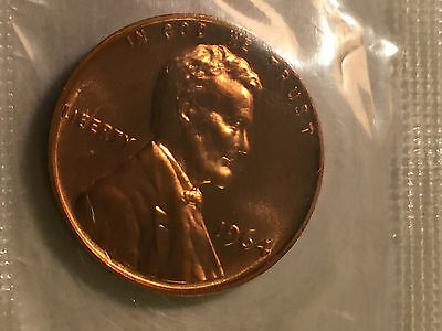1964 proof 1 cent and 5 cent in mint cellophane