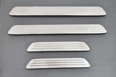 WOW Door Sills Scuff Plate Guards Protectors For Porsche Cayenne 2011-2014 New