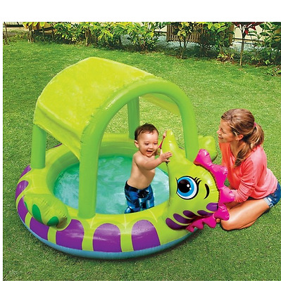 NEW Intex Kids Shaded Pool Toddler Baby Splash Swimming Toy Game Inflatable Safe