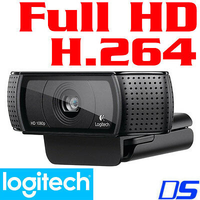 Logitech C920 HD Pro 15-Megapixel Full HD 1080p PC Skype Autofocus Camera Webcam