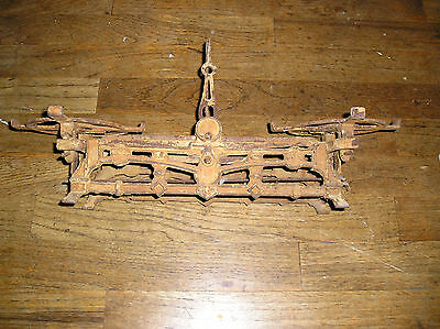 Antique Mars Wage Cast Iron Scale Old And Rusty