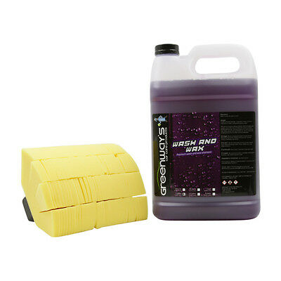 Car Wash And Wax Shampoo With Soft Foam Mitt Scratch Free Swirl Free Finish