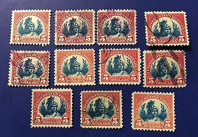 US SCOTT# 573 USED STAMP LOT 11 Stamps