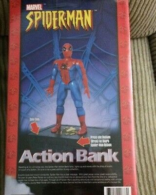 MARVEL COMICS SPIDERMAN AS SEEN ON TV ACTION BANK New