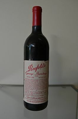 Penfolds Grange Hermitage Shiraz 1983 ~ Clinic approved & certified