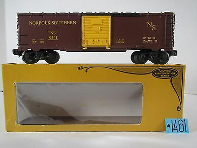 Lionel 6-9461 NORFOIK &SOUTHERN BOX CAR LIMITED EDITION SERIES NEW O.B.