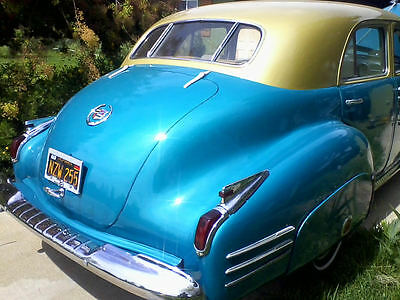 1941 Cadillac Other Fender Skirts Pre-War Complete and Original with 1971 500 cc professional installation