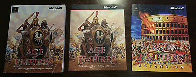 Age of Empires Game Manuals x 3