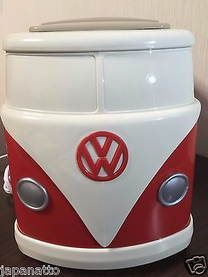 Free Shipping! FS! RED Japan Volkswagen VW Toaster  Original Mini bus  NEW