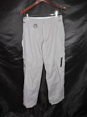 Limelight XS Enduratex Gray Snow Pants Ski Snowboard Winter Lined Nylon Womens