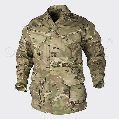 HELIKON TEX SFU Special Forces Tactical Combat Jacket CAMOGROM Army coat Small