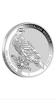 2016 Wedge-tailed Eagle Silver Coin 1oz pure .999