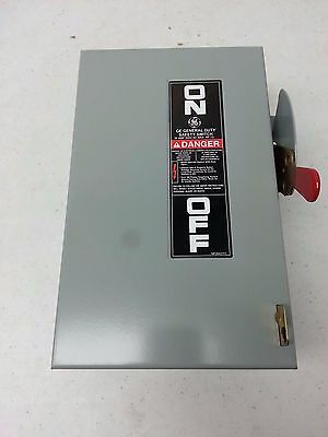 GE General Electric TGN3321 30A safety switch/disconnect non fused