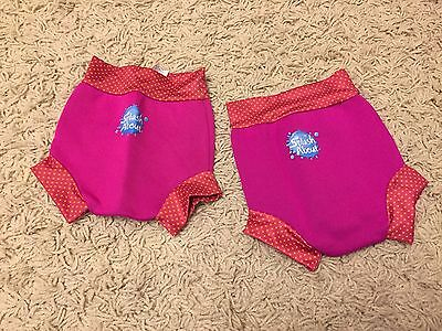 Splash About Swimming Nappies (Happy Nappies) Size M & L