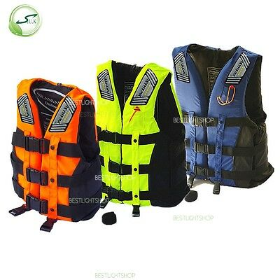 Unsex Swimming Snorkeling Lifesaving Vest Aid Sailing Kayak Life Jacket Drifting