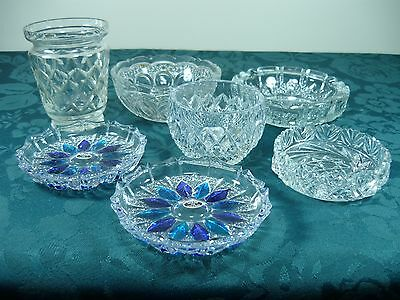 Group Lot Of Crystal And Glass Ware