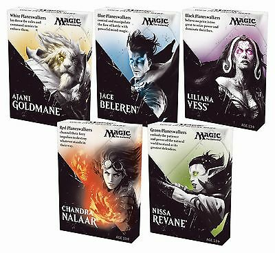 Lotto 5 intro deck Magic the Gathering tot 150 cards playset IT (no planeswalker