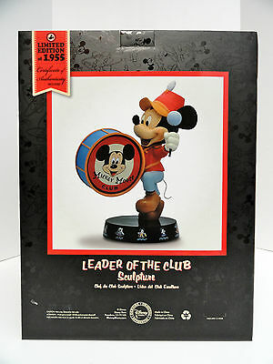 Disney Mickey Mouse Club  LEADER OF THE CLUB  Figurine LE Of 1955