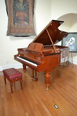 Exquisite art case  grand  piano &choice of Yamaha or  Steinway stool.