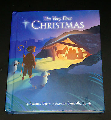 Hallmark The Very First Christmas Recordable StoryBook Suzanne Berry  VGC 2011